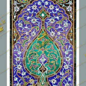 کاشی سنتی مسجد گوهرشاد